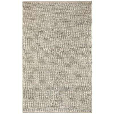 Vancouver Silver 8 ft. x 10 ft. Area Rug