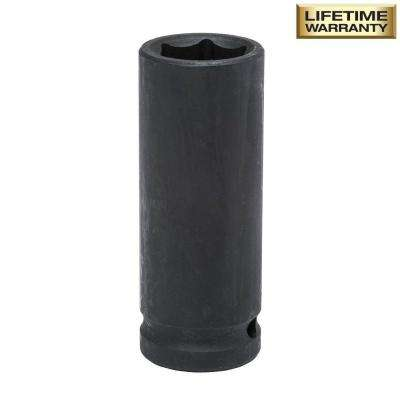 1/2 in. Drive 21 mm 6-Point Deep Impact Socket