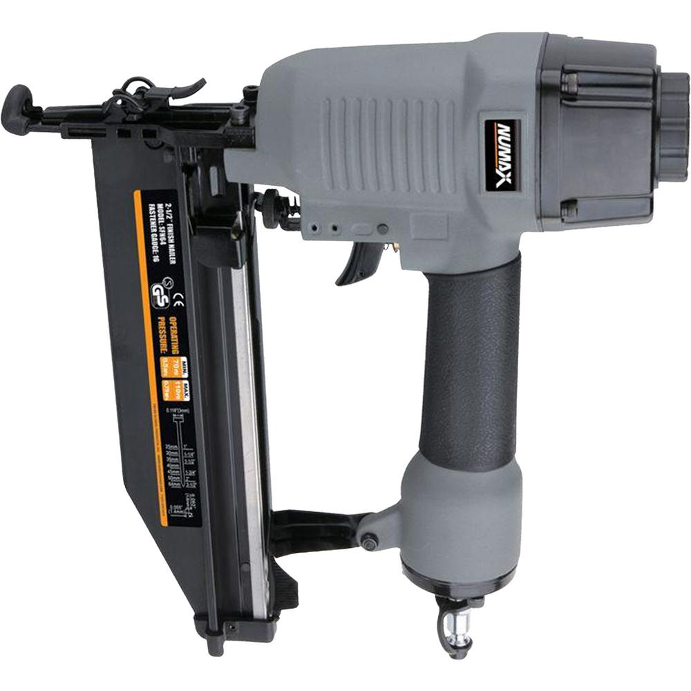 NuMax NuMax Pneumatic 16-Gauge 2-1/2 in. Straight Finish Nailer