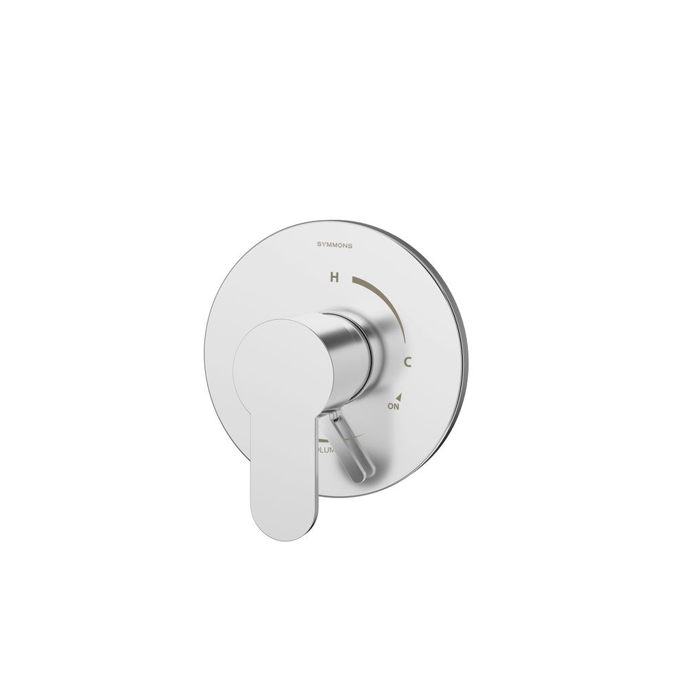 Identity 1-Handle Pressure Balance Shower Valve with Volume Control in Chrome