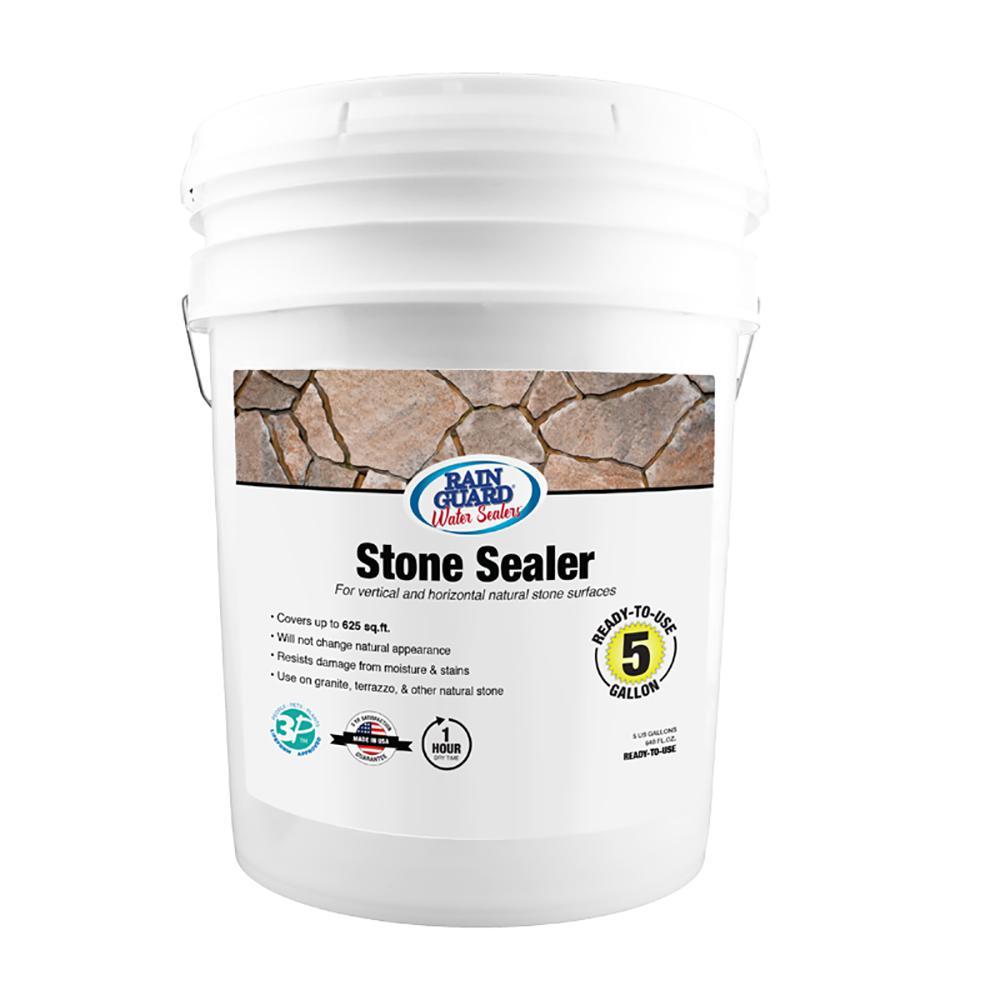 5 gal. Stone Sealer Premium Clear Waterproofer Sealer
