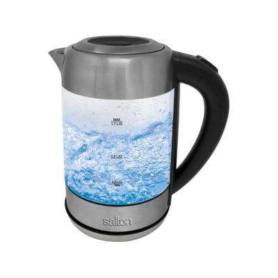 Cordless 2-Cup 1.7 l Electric Glass Kettle
