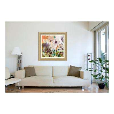 47.25 in. W x 47.25 in. H Autumn Song II by Asia Jensen Printed Framed Wall Art