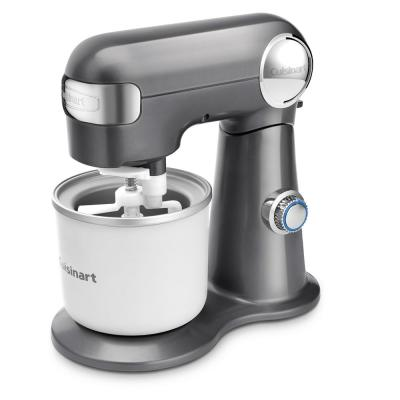 1.5 Qt. Ice Cream Maker Attachment Stainless Steel for SM50 Series Stand Mixer