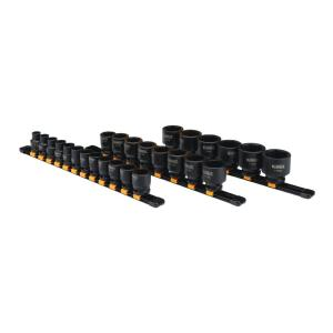 Dewalt 1/2 inch Drive Metric Impact Socket Set (26-Piece) by DEWALT