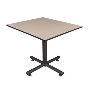 Kobe Beige 48 in. Square Breakroom Table