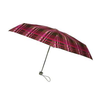 40 in. Arc Ultra Mini Manual Umbrella in Plaids