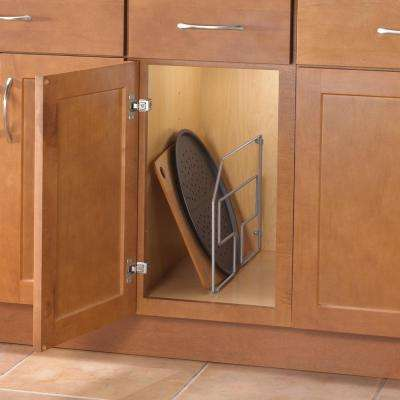 12.56 in. x 3.06 in. x 20.25 in. Tray Divider Cabinet Organizer