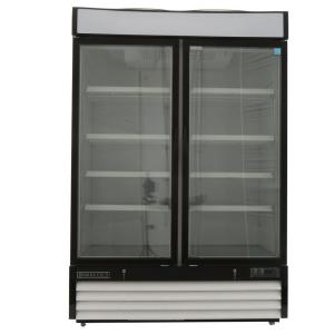 Click here to buy Maxx Cold X-Series 48 cu. ft. Double Door Merchandiser Refrigerator in White by Maxx Cold.