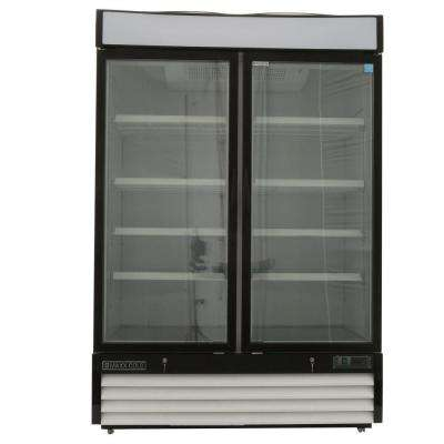 X-Series 48 cu. ft. Double Door Merchandiser Refrigerator in White
