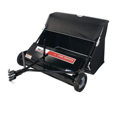 Professional Grade 42 in. 18 cu. ft. Lawn Sweeper