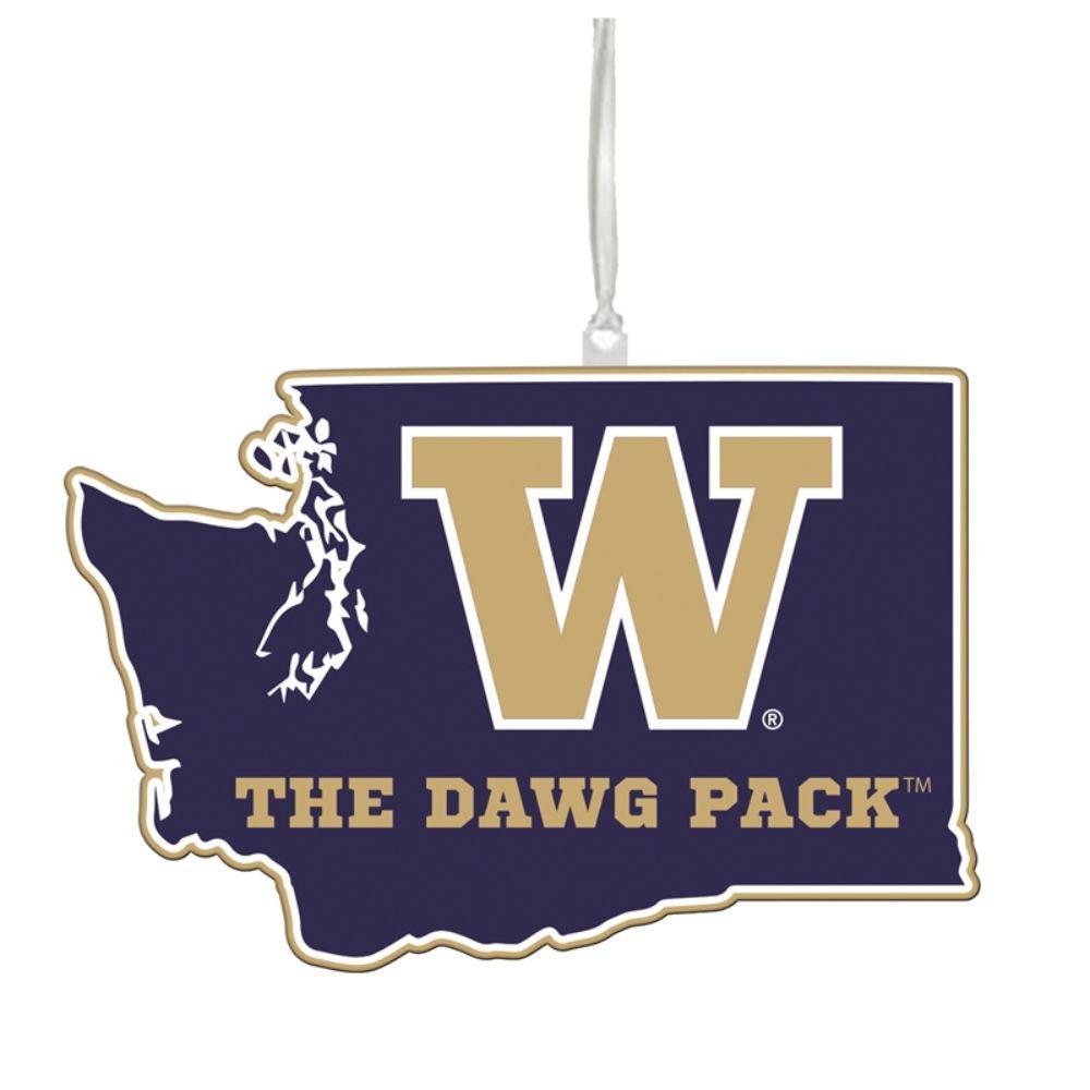 University of Washington 5 in. NCAA Team State Christmas Ornament