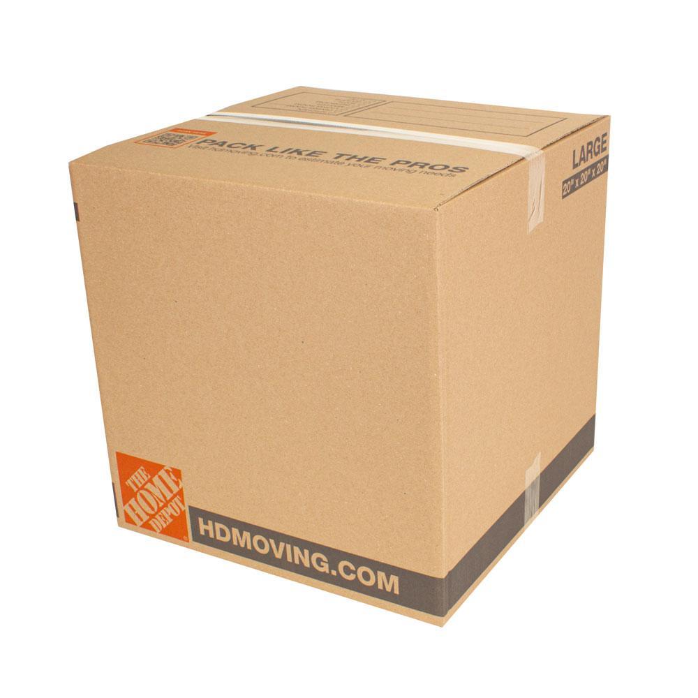 20 in. L x 20 in. W x 20 in. D Standard Moving Box (30-Pack)