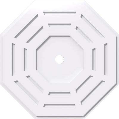 26 in. OD x 2 in. ID x 1 in. P Westin Architectural Grade PVC Contemporary Ceiling Medallion