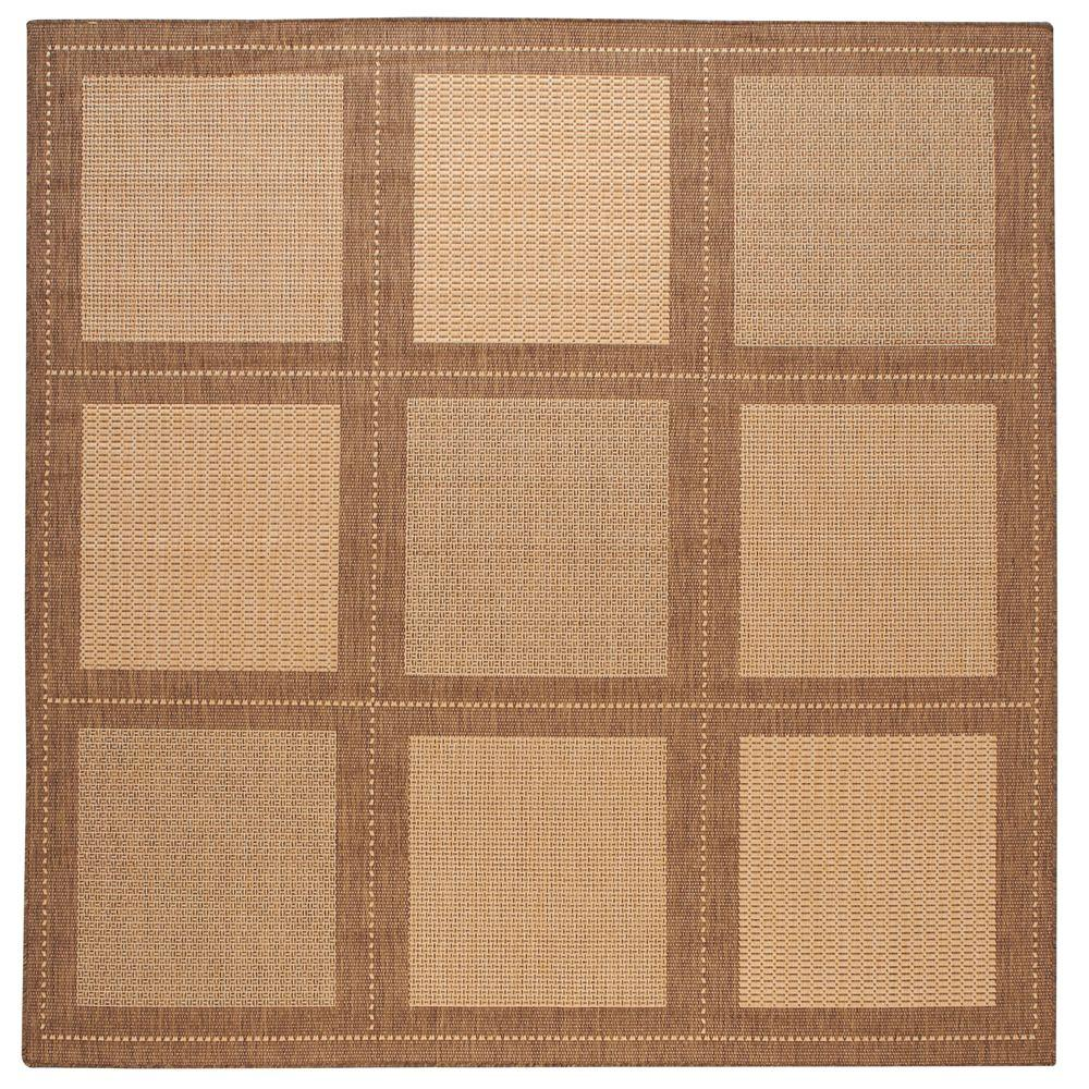 Home Decorators Collection Summit Natural/Cocoa 8 ft. 6 in. Square Area Rug