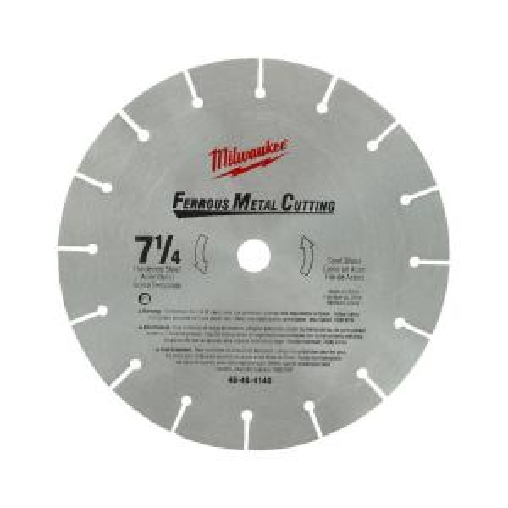 Milwaukee 7-1/4 inch High Speed Steel Circular Saw Blade by Milwaukee