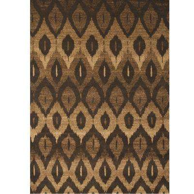 Chelsea Valdis Brown 7 ft. 9 in. x 10 ft. 6 in. Area Rug