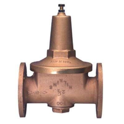 3 in. Lead-Free Brass Flanged Water Pressure Reducing Valve