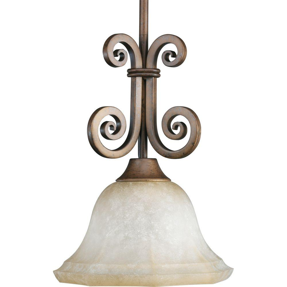 Thomasville Lighting Guildhall Collection Roasted Java 1-light Mini-Pendant-DISCONTINUED