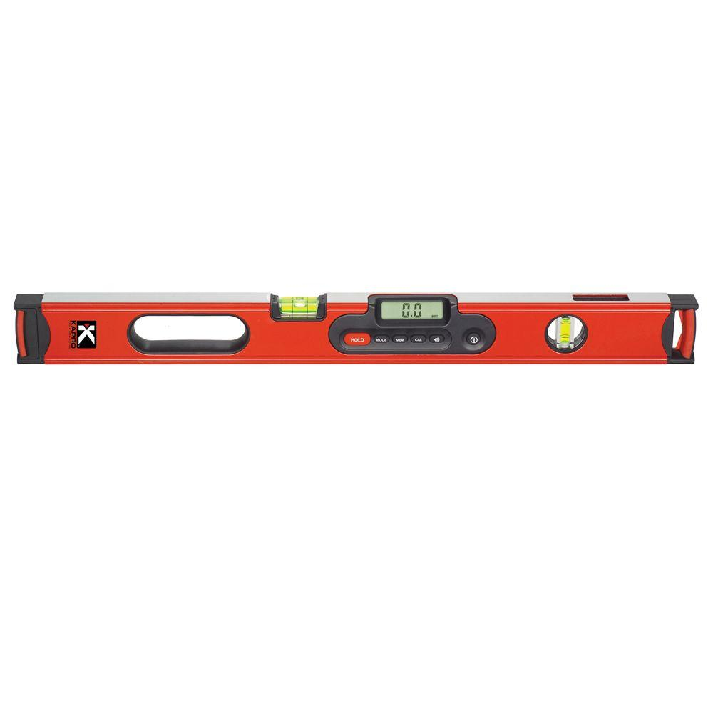 24 in. Digiman Magnetic Digital Level with Case
