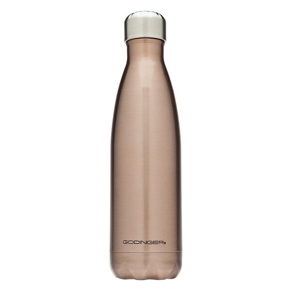 Godinger Insulated 17 oz. Titanium Water Bottle