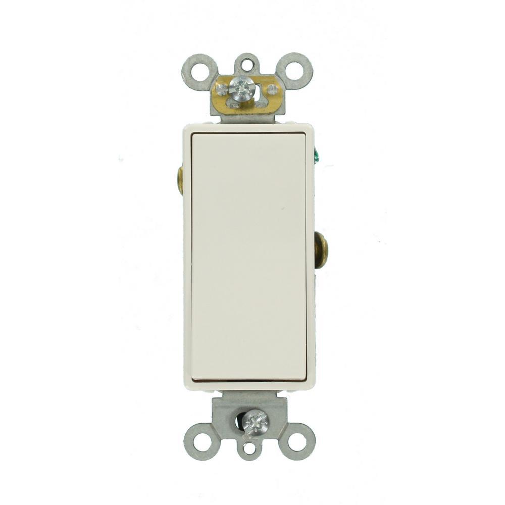 Leviton Decora Plus 20 Amp Switch, White