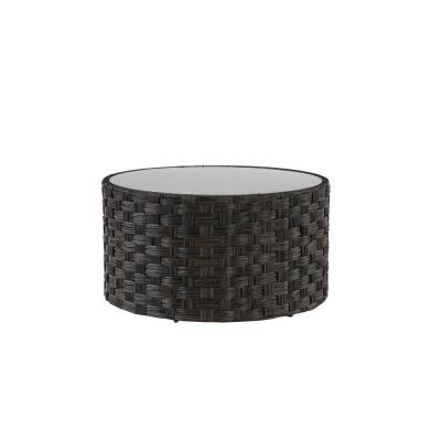 Sunset Point Brown Aluminum Outdoor Coffee Table