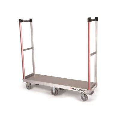 1,200 lbs. Capacity Commercial Bulk Delivery Truck with 2-Removable Handle and Non-Marking Casters
