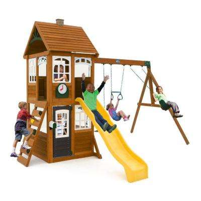 McKinley Wooden Swing Set