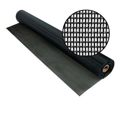 72 in. x 100 ft. Black Pet Screen
