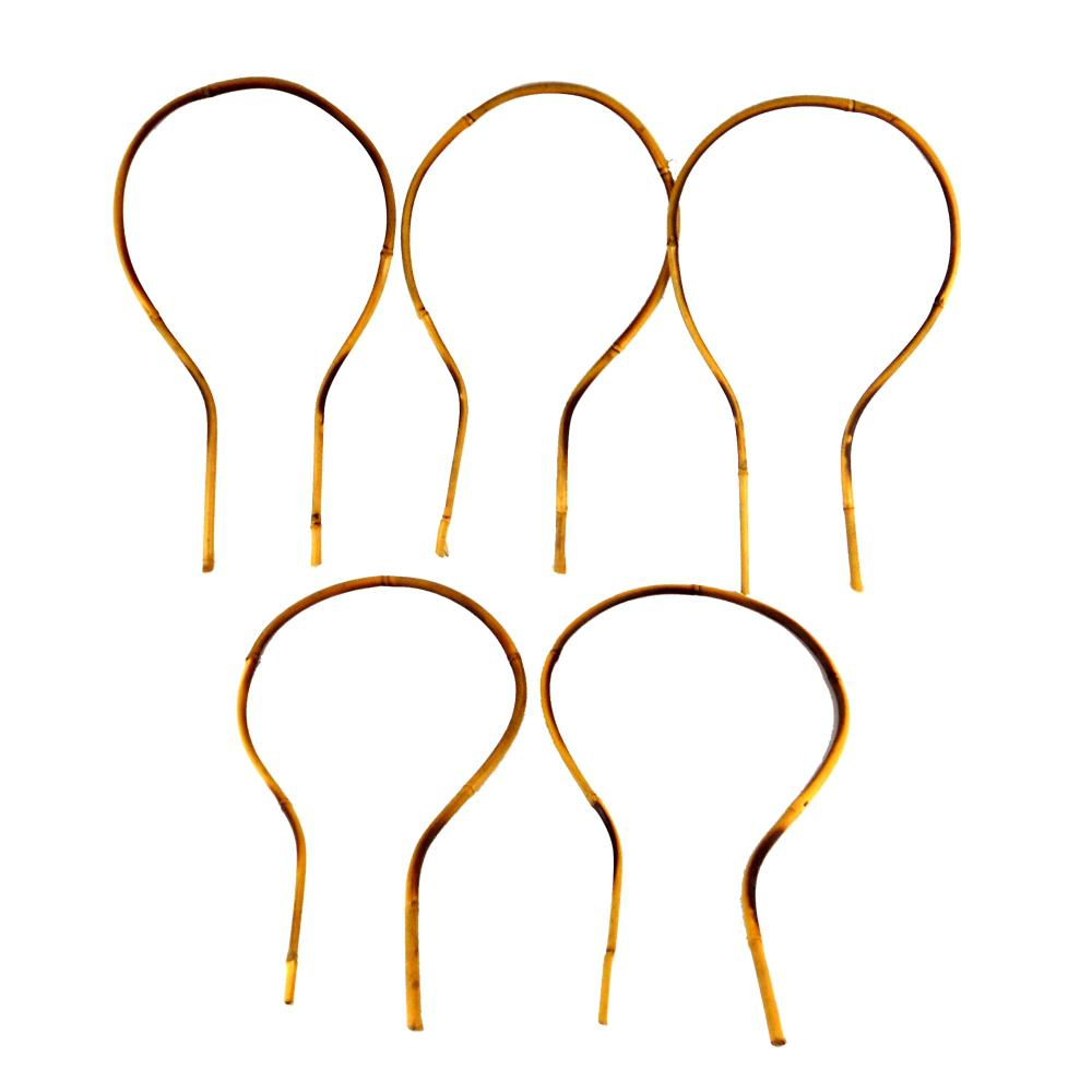 15 in. Bamboo Loop Stakes (5-Pack)