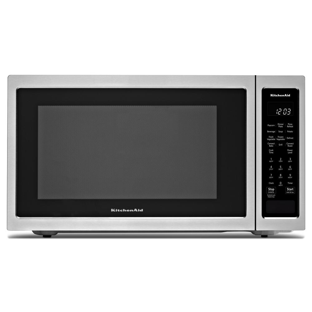 KitchenAid 1.5 cu. ft. Countertop Microwave in Stainless Steel