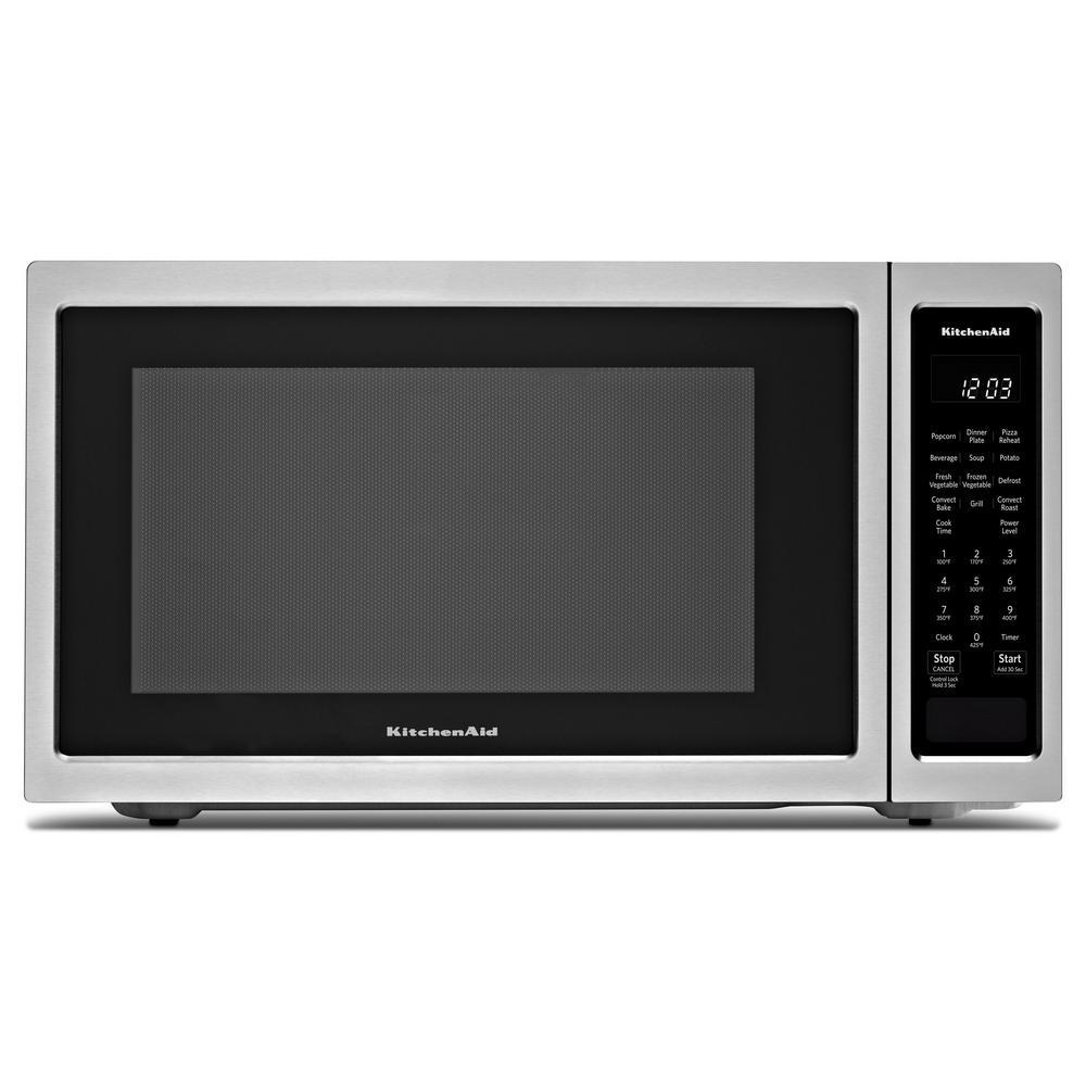 1.5 cu. ft. Countertop Microwave in Stainless Steel