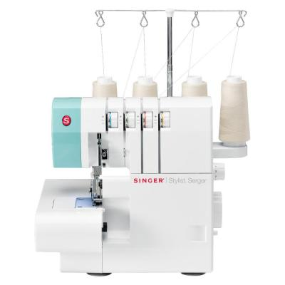 Stylist Serger Sewing Machine with 2-3-4 Thread Capability