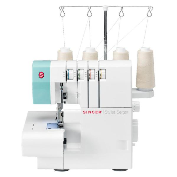 dcbdac5b8e5 Singer Stylist Serger Sewing Machine with 2-3-4 Thread Capability ...
