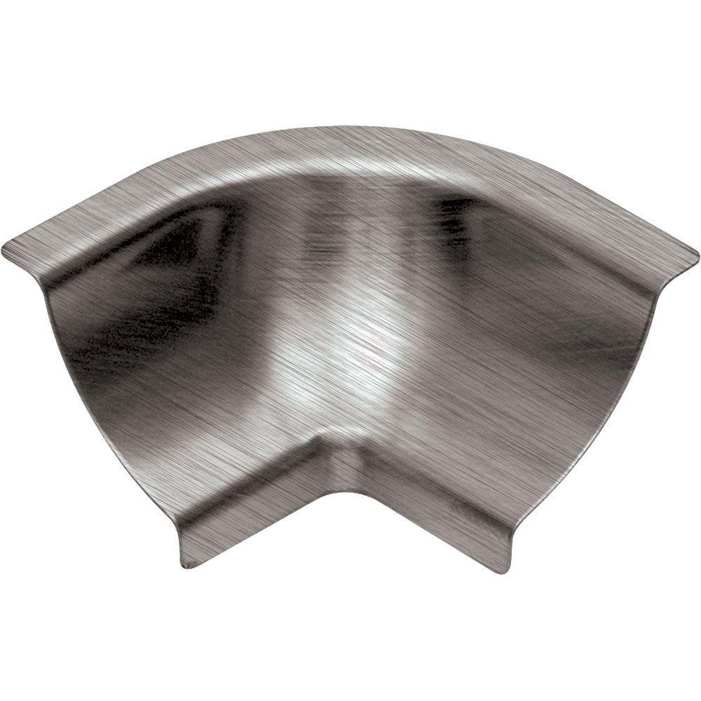 Stainless Steel Corner : Schluter dilex ehk brushed stainless steel in