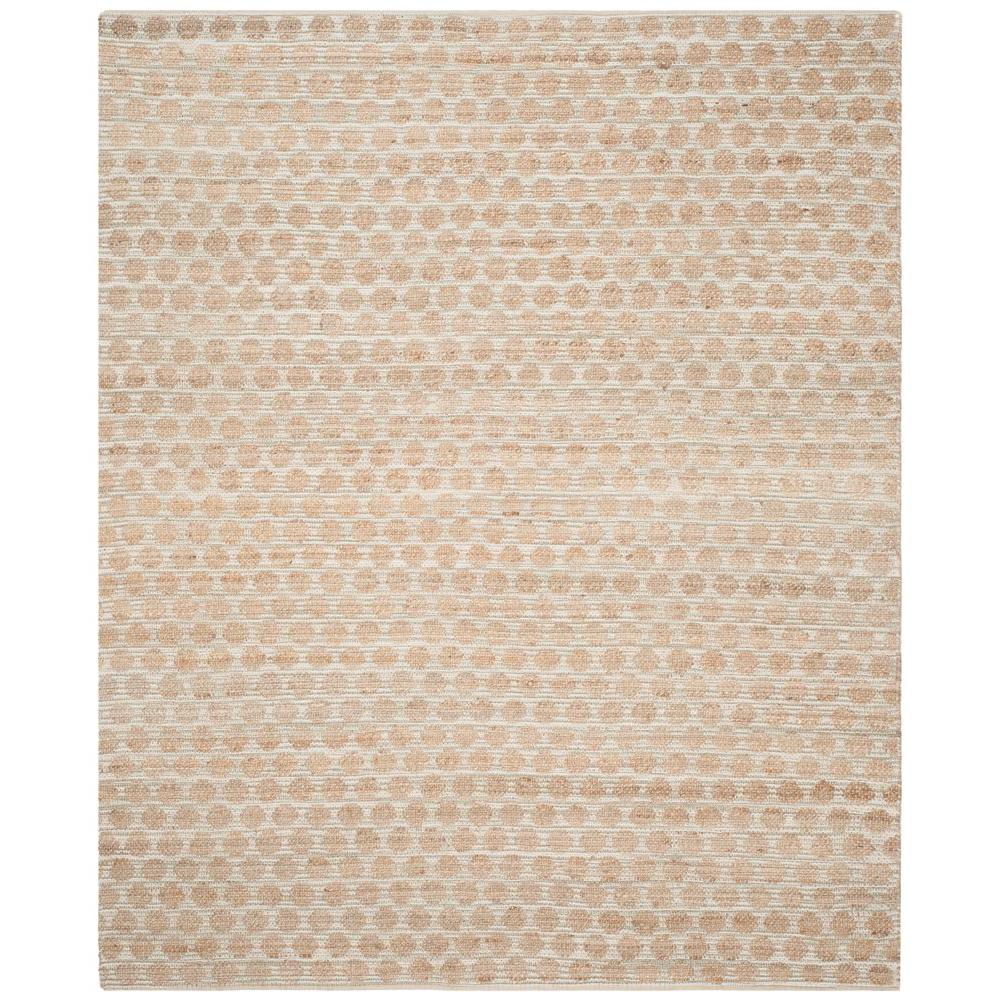 Cape Cod Grey/Natural 8 ft. x 10 ft. Area Rug