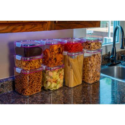 Cube Tritan Co-Polyester Food Storage Containers with Lids Variety (9-Pack)