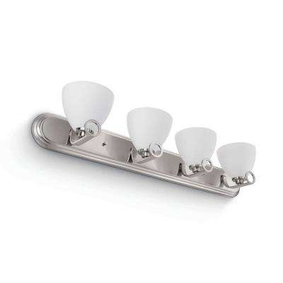 Maurice 4-Light Brushed Nickel Sconce