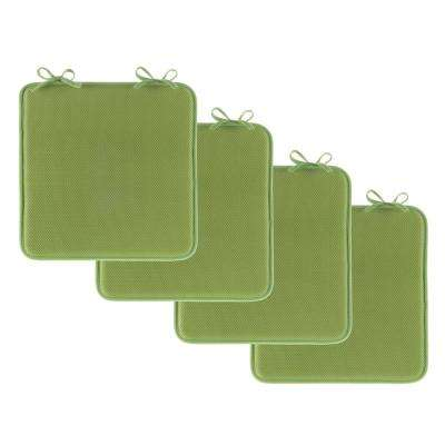 Green Foam Chair Pad (Set of 4)