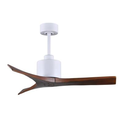Mollywood 42 in. Matte White Ceiling Fan with Hand Held Remote and Wall Control
