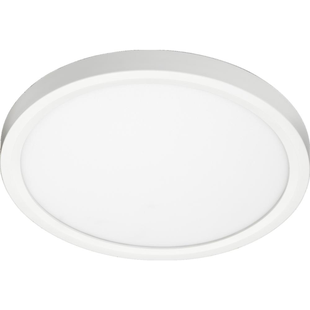 Juno Lighting Jsfsq Slimform 3000k 90cri 7 In Square White Integrated Led Surface Mount Dimmable