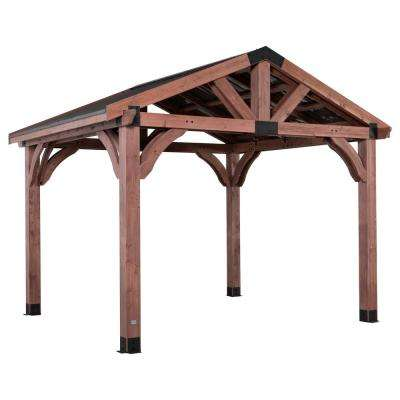 Arlington 12 ft. x 10 ft. Gazebo with Steel Roof