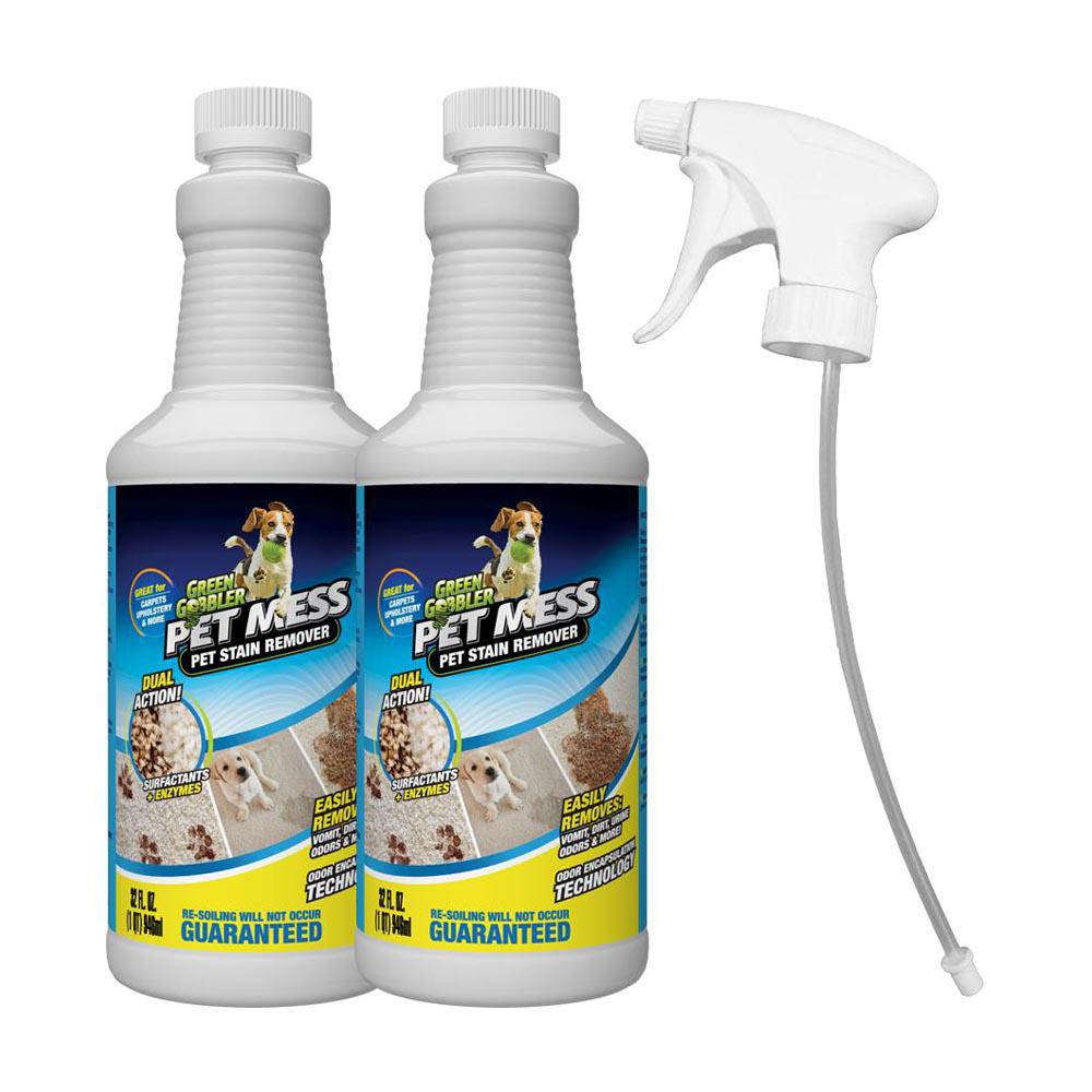 Best Sofa Stain Remover: Green Gobbler Pet Mess 32 Oz. Upholstery Stain Remover