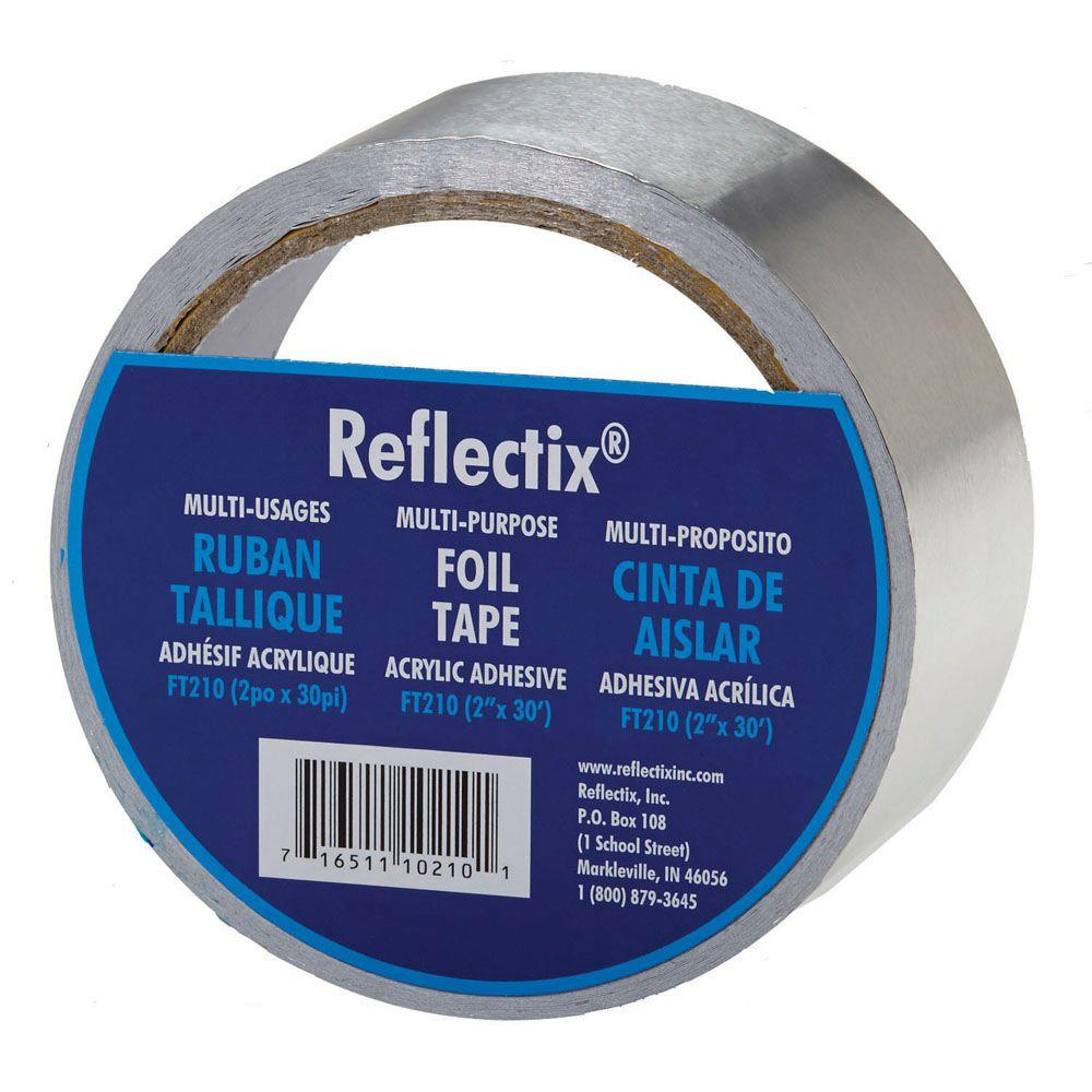 Reflectix 2 in  x 30 ft  Reflective Foil Tape