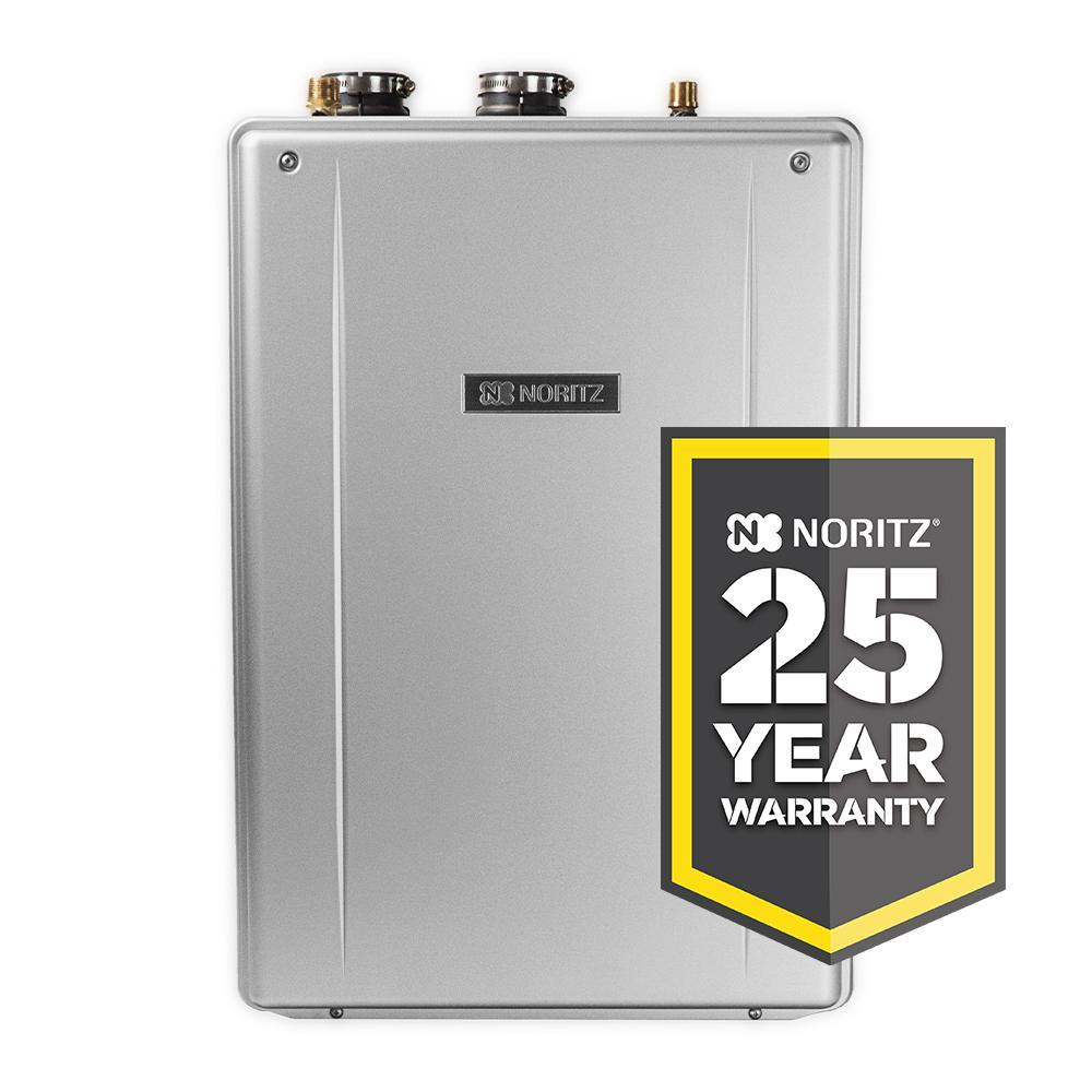 Noritz 11.1 GPM EZ Series Natural Gas Hi-Efficiency Indoor/Outdoor Tankless Water Heater