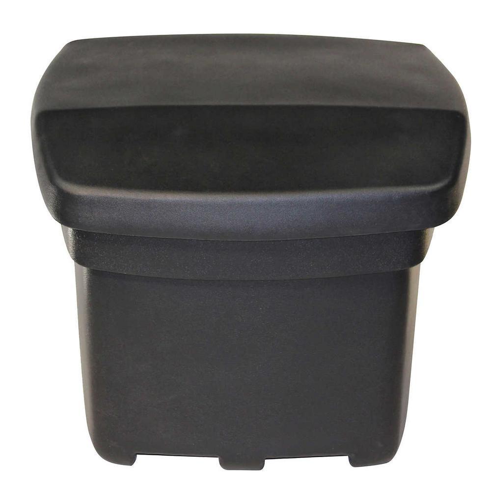 5 cu. ft. Outdoor Sand and Salt Storage Bin in Black
