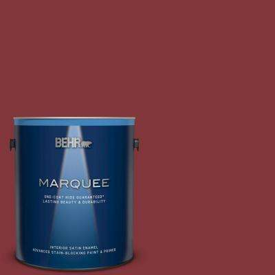 Pleasant 1 Gal S H 170 Red Brick Satin Enamel Interior Paint And Primer In One Home Interior And Landscaping Ologienasavecom