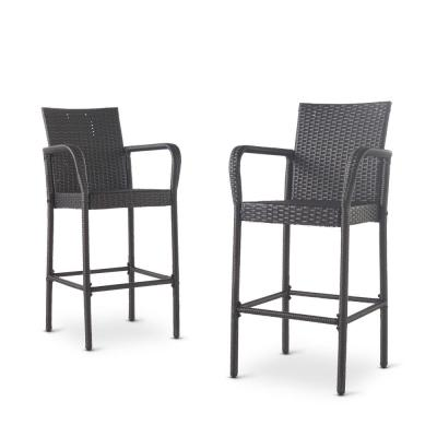 Peggy Wicker Outdoor Bar Stool (2-Pack)
