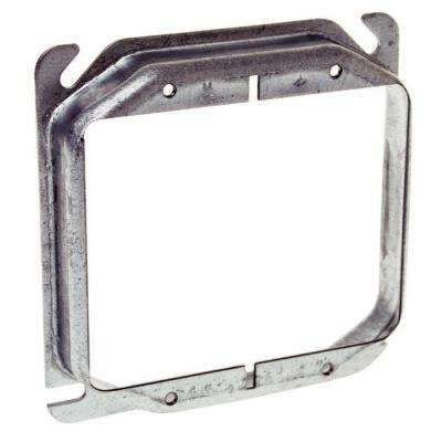 4 in. Square 2-Gang Raised 3/4 in. Mud Ring, (25 Pack)